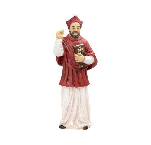 "4"" Saint Robert of Bellarmine Resin Statue"