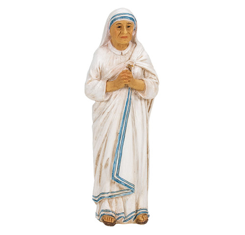 "4"" Saint Teresa of Calcutta Resin Statue"