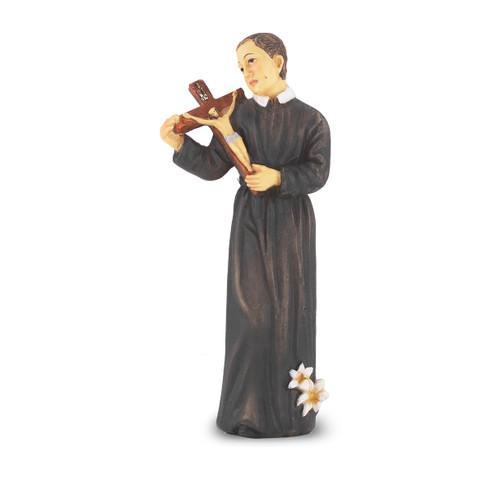 """4"""" Saint Gerard Majella Resin Statue"""