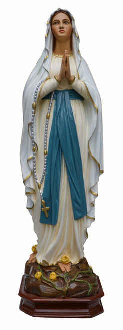 "17"" Our Lady of Lourdes Statue 