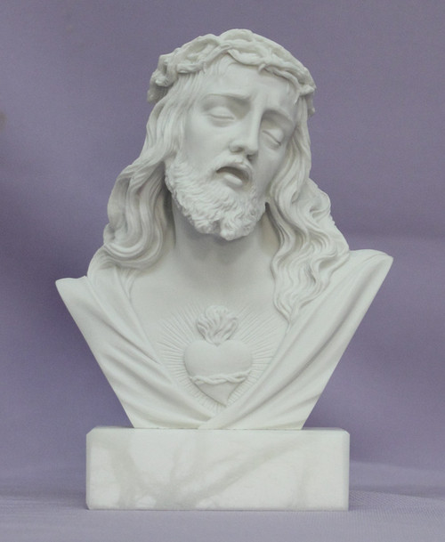 "5"" Sacred Heart of Jesus Bust 