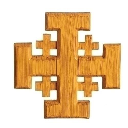 "5"" Jerusalem Cross | Resin"