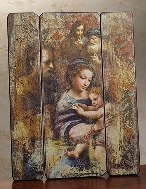 "15"" Nativity Pallet Decorative Panel"