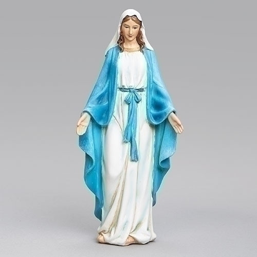 "6"" Our Lady Of Grace Statue 