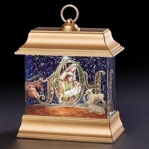 """8.5"""" LED Holy Family JOY Lantern"""