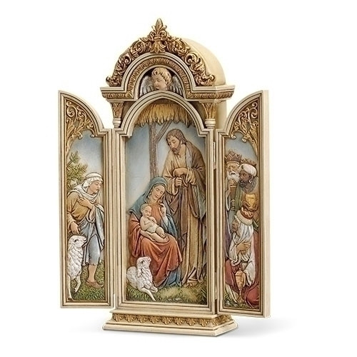 "12.75"" Nativity Triptych 