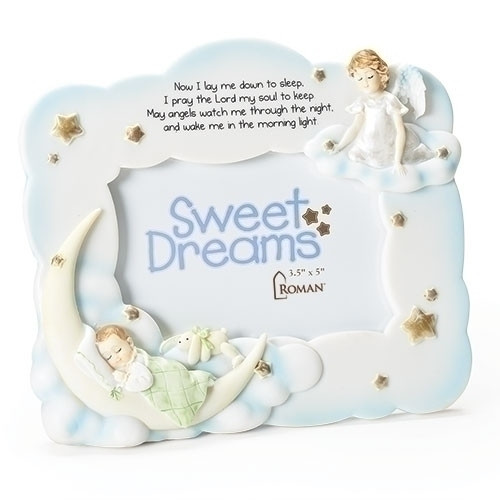 "7"" Sweet Dreams Nighttime Prayer Frame 