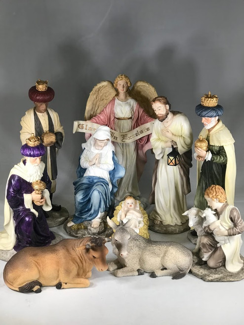 "10.5"" Nativity Scene 