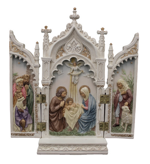 "8"" Nativity Triptych 