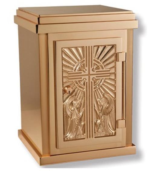 #95TAB27 Adoring Angels Tabernacle | Bronze