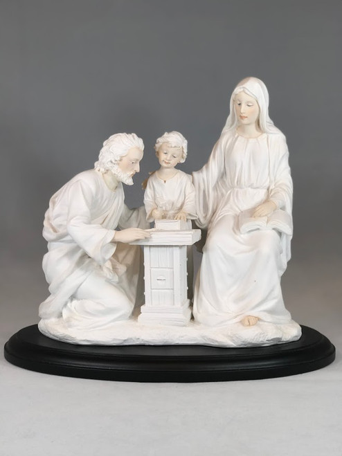 "8.5"" Holy Family at Workbench Statue 