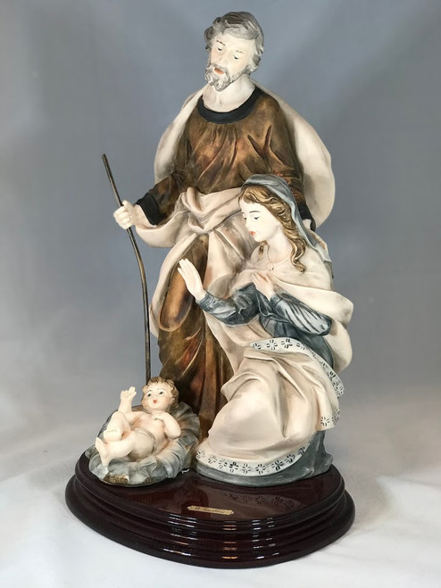 "16"" Holy Family Nativity Scene Statue 
