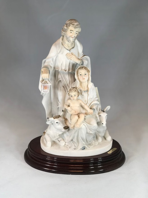 "12"" Holy Family Nativity Scene Statue 