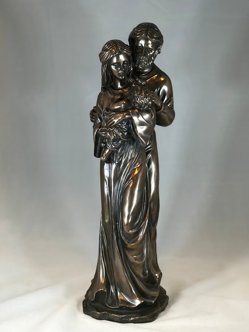 "16"" Holy Family with Baby Jesus Statue 