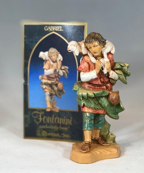 "Gabriel | 5"" Scale | Fontanini Italian Nativity"