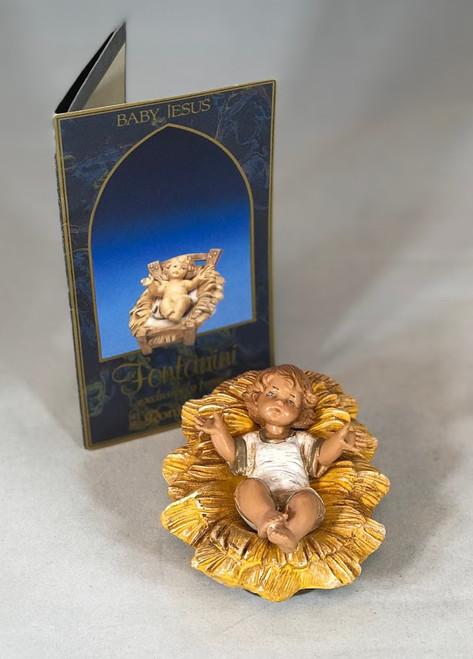 "Baby Jesus | 7.5"" Scale | Fontanini Italian Nativity"