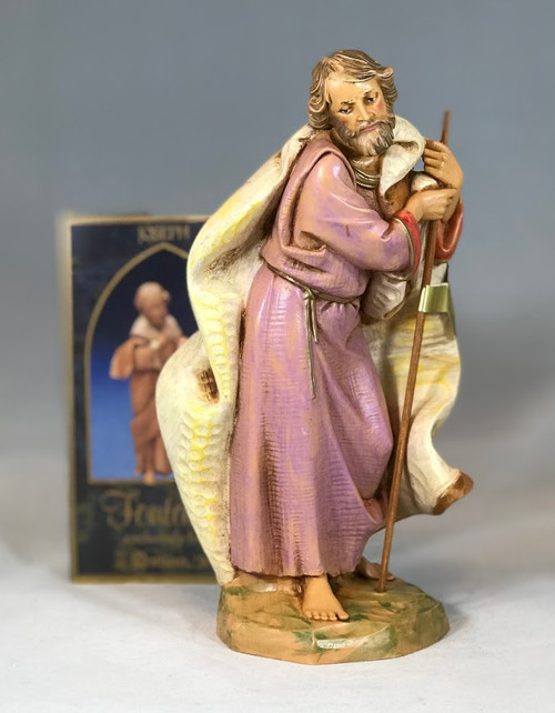 "Joseph | 7.5"" Scale | Fontanini Italian Nativity"