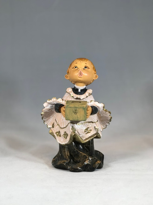 "Choir Boy Figure | 7.5"" Scale | Fontanini Italian Nativity | Retired"
