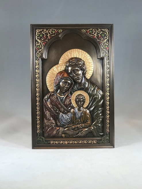 "6"" x 9"" Holy Family Plaque 
