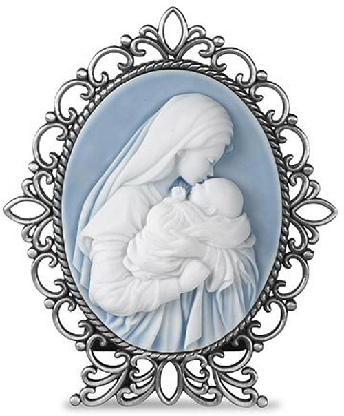 """5"""" Mother's Kiss Cameo Desk Stand"""