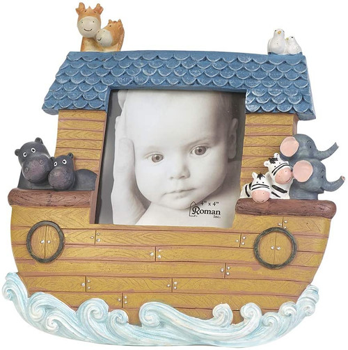 "9.5"" Noah's Ark Picture Frame 