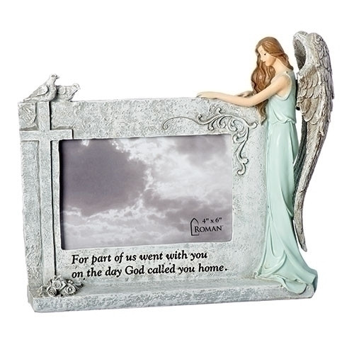 "8.25"" Memorial Angel Frame 