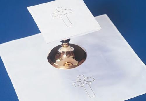 "3"" Celtic Cross Altar Linens | Linen/Cotton"