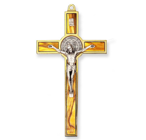 St. Benedict Medal Crucifix, 7"