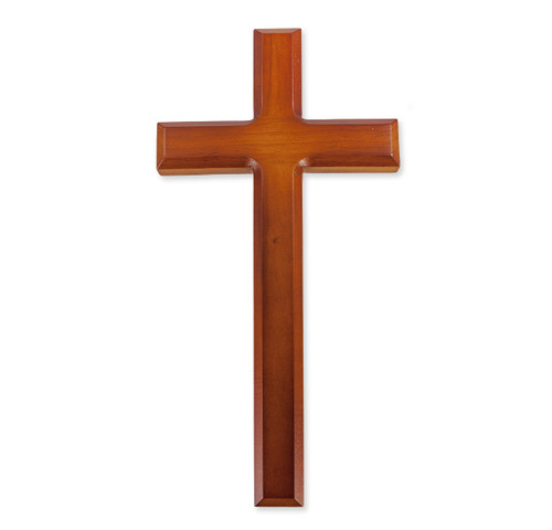 "Tutone Wood Cross, 12"""