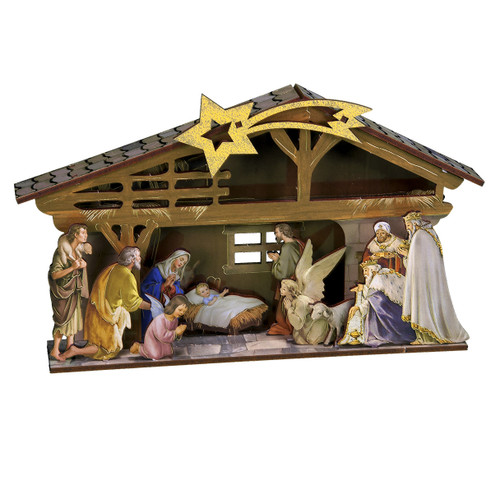 "6"" Nativity Diorama Pop-Up Kit 