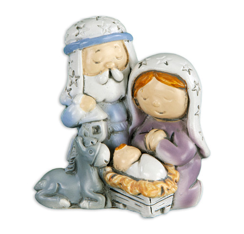 "2"" Holy Family Christmas Figure 