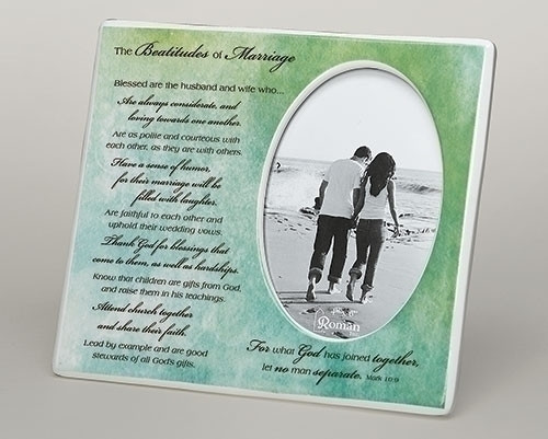 "8"" Beatitudes of Marriage Picture Frame 