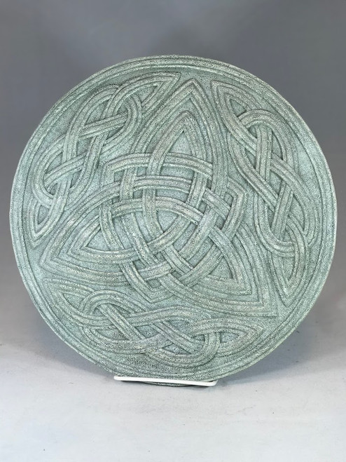 "11.5"" Round Celtic Knot Garden Stepping Stone 