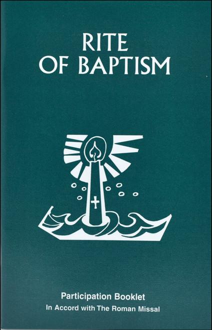 Order Of Baptism Of Children | Participation Booklet