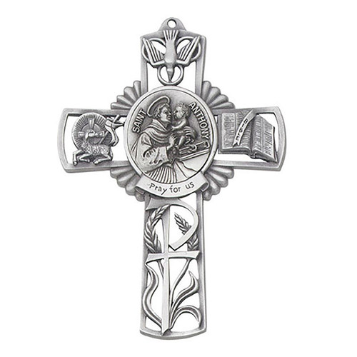 """5"""" St. Anthony Wall Cross 