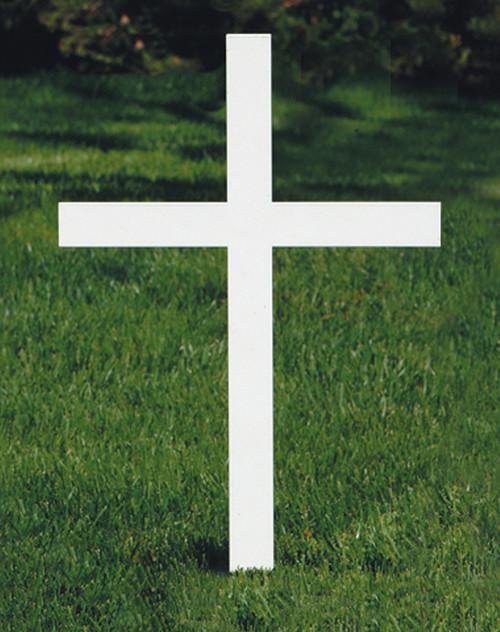 "K4055 Memorial Cross | 20""H | Steel"