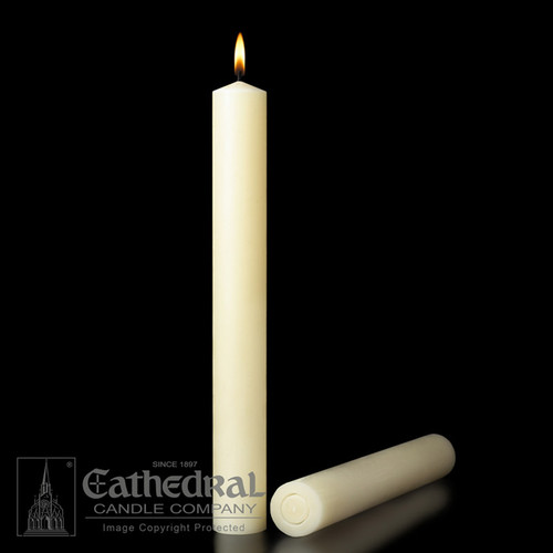 Large Diameter Altar Candles | 100% Beeswax | All Sizes & End Types