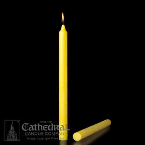 Peerless Brand Wax-Colored Molded Candles | All Sizes & End Types