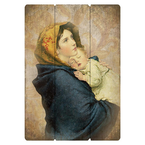 Ferruzzi: Madonna of The Streets Large Pallet Sign