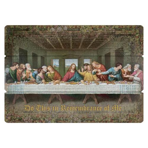 Da Vinci Last Supper Large Pallet Sign