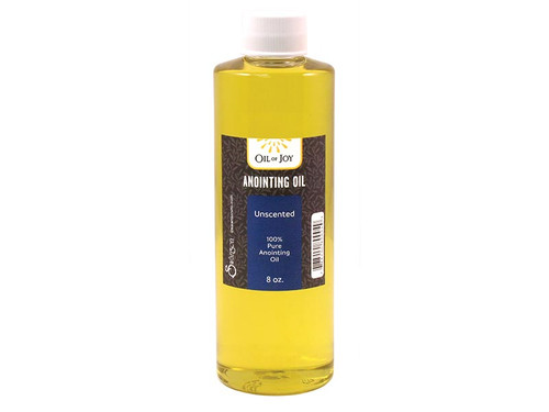 Unscented Anointing Oil | 8 oz Bottle