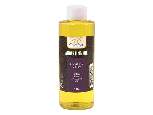 Lily of the Valley Anointing Oil | 4 oz Bottle