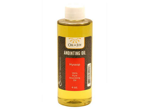 Hyssop Anointing Oil | 4 oz Bottle