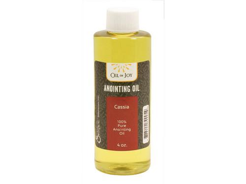 Cassia Anointing Oil | 4 oz Bottle