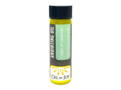 Cedars of Lebanon Anointing Oil | 1/4 oz Mini Bottle