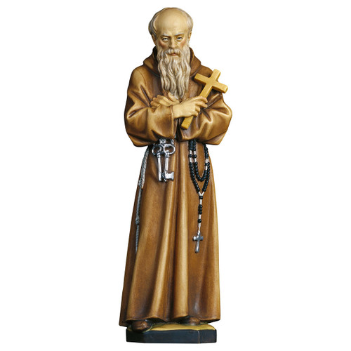 St. Conrad of Parzham Statue | Hand Carved In Italy | Multiple Sizes