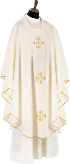 #650 Chasuble | Square Collar | 100% Poly | All Colors