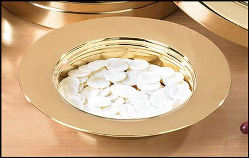 Stacking Bread Plate | Stainless Steel | Brass Finish