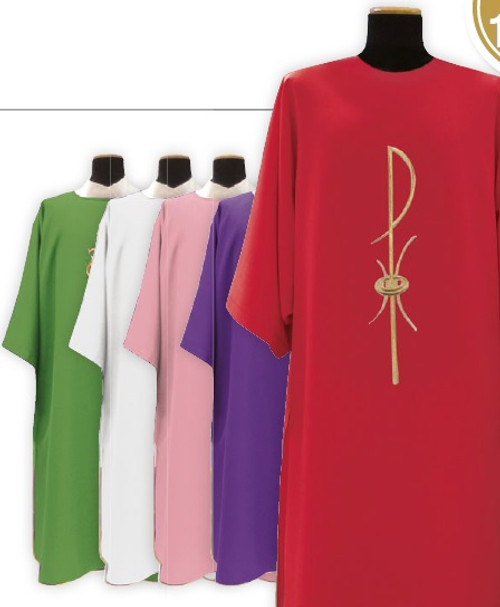 #1205 Chi Rho Dalmatic | 100% Poly | All Colors