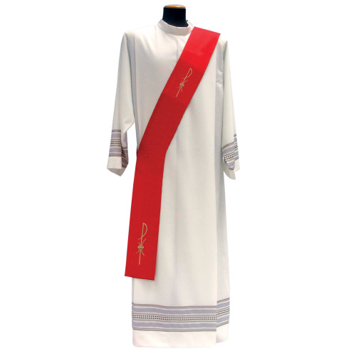 #1205 Chi Rho Deacon Stole | 100% Poly | All Colors